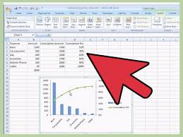 Pareto Analysis In Excel Template How To Create A Pareto Chart In Ms Excel 2010 14 Steps