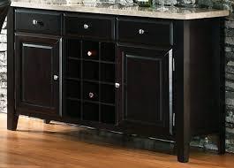 black wine cabinet. Marble Top Server/Buffet Black Wine Cabinet T
