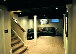 Finish Basement Design Stunning Refinish Basement Ideas Basement Finishing Basement Ideas Basement