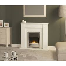 bemodern kendall electric fire surround and fireplace insert white fol100278 1 of 1free see more
