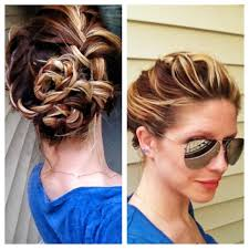 French Braid Updo Hairstyles Womens Hairstyle Updo French Braid Bohemian Updo Long Hair