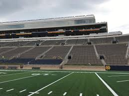 Video Take A Tour Of Notre Dame Stadiums Renovations