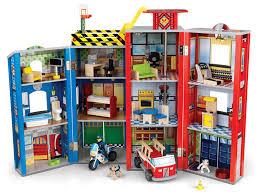 """Игровой набор для мальчиков <b>KidKraft</b> """"Здание <b>спасательной</b> ..."""