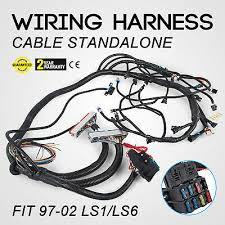 1997 2006 dbc ls1 standalone wiring harness t56 or non electric tran top standalone wiring harness w t56 or non elec for 1997 2002 ls1