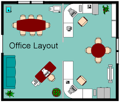 office layout. Office Layout Drawing