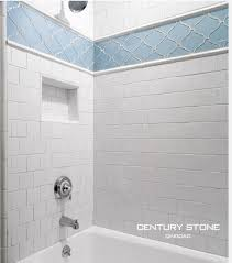 glass tile pencil trim tile designs