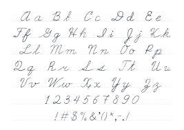 Lowercase Cursive Alphabet Worksheet Uppercase Handwriting Worksheet A Printable Worksheets Free Abc