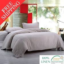linen bedding sets stone washed linen bedding set 1 duvet cover and 2 pillow case linen linen bedding