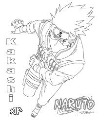 Here is a collection of 20 printable naruto coloring pages for your kids. Printable Hatake Kakashi Coloring Pages Anime Coloring Pages