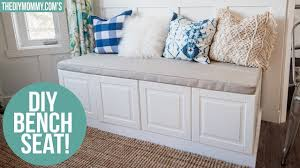 ikea how to build a bench from kitchen cabinets