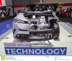 Electric car motor for sale Dc Motor Powered Bangkok Thailand August 22 2018 Toyota Chr Electric Car Zero Emission Presented In Big Motor Sale 2018 Edmunds Toyota Chr Electric Car Editorial Stock Photo Image Of Toyota