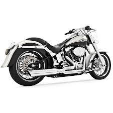 freedom performance union exhaust chrome fits 86 14 harley