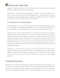 Business Requirements Document Template Revolutionary Documents ...