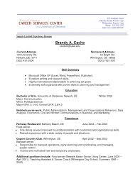 Resume Format Without Experience Work Example No Examples