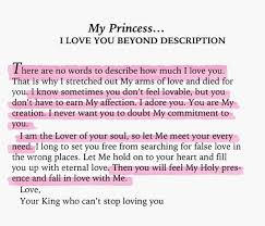 Christian Princess Quotes Best Of His Princess Love Letters From Your King Sheri Rose Shepherd I