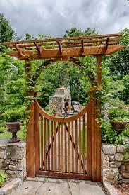 decorative garden gates. Nice Custom Flat Top For Wooden Garden Gates Ideas Popular Decorative Traditional P