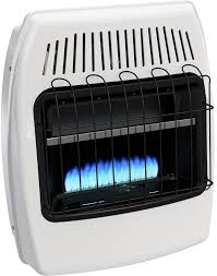 20 000 btu blue flame vent free lp wall heater separately sold optional base