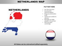 Country Powerpoint Maps Netherlands Powerpoint Templates