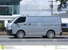 Private Toyota Cargo Van. editorial photo. Image of industry ...