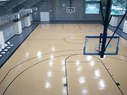 image of design your own indoor basketball court ideas