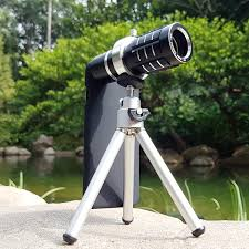 oem 12x telephoto zoom long range telescope lens for apple iphone 7