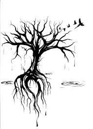 Love The Style And The Rain Tetování Tetování Strom Tetování