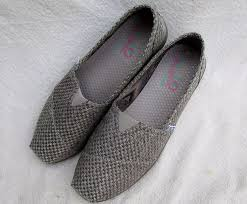 sketchers for women. bobs sketchers shoe women 10 gray textile slip on casual flats for