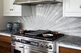 Glass Tile Backsplash Kitchen Contemporary DC Metro By Blue Aqua Discount