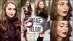 vine hair makeup outfits for the holidays jackie wyers you
