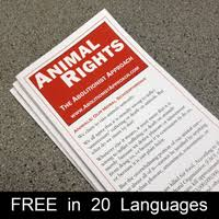 books   animal rights  the abolitionist approachthe abolitionist approach to animal rights pamphlet