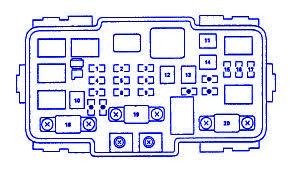 honda cr v 2003 main fuse box block circuit breaker diagram honda cr v 2003 main fuse box block circuit breaker diagram