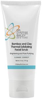 dr bailey s bamboo and clay thermal exfoliating scrub