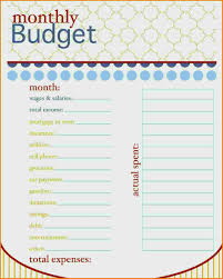 simple printable budget worksheet family budget template printable elegant simple free printable bud