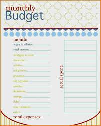 simple printable budget worksheet family budget template printable elegant simple free printable bud