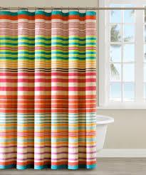 Blue Brown Striped Shower Curtain Http Legalize Crew Com