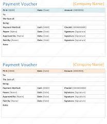 Payment Voucher Template In Microsoft Word Dotxes