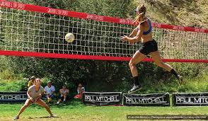 Park Sun Sports Official Volleyball Net System Of Summer