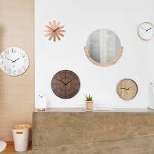 umbra ribbon wall clock copper