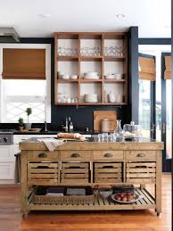 Rustic portable kitchen island Butcher Block Portable And Luxury Kitchen Island Small And Slider Drawers In Industrial Kitchen Design Ideas For Resin Patio Furniture Clearance Furniture Innovative Movable Kitchen Islands For Small Kitchen