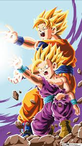Dragon Ball Z Gohan Goku Hd Hintergrundbilder Herunterladen
