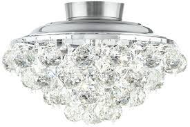 crystal ceiling fan light kit clear crystal ball chrome universal ceiling fan light kit com