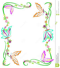 colorful frame border design. Butterfly Border Royalty Free Stock Photo Image Colourful Designs Rangoli Colorful Frame Design O