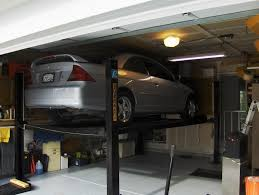 My 2 car garage now has a car lift and I can get 3 cars inside