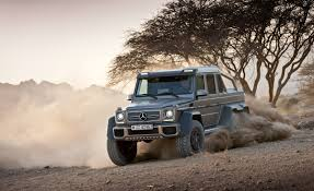 Mercedes-Benz G63 AMG 6x6 Concept Photos and Info – News – Car and ...