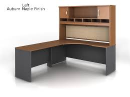 l shaped office desk with hutch. Delighful Hutch Bush Series C LShaped Desk Bundle W 72 To L Shaped Office With Hutch