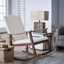 modern white rocking chair contemporary rocking chair in very