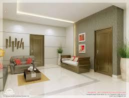 Modern Interior Design For A Contemporary Concrete House In - Home interior design kerala style
