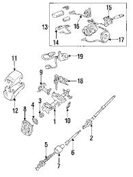 parts com® toyota slipring horn conta partnumber 8431535020 1995 toyota t100 sr5 v6 3 4 liter gas steering column assembly