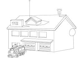 Small Picture Coloring Pages Of A House On Fire Printable Coloring Pages