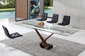 dining table and chairs glass dining table modenza furniture impressive on contemporary glass dining tables